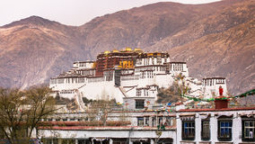The Ancient Temple , Potala Palace Royalty Free Stock Images