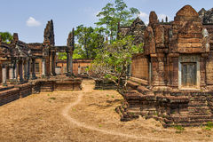 Ancient temple ruins Stock Images