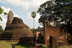 Ancient temple ruins in Thailand. Stock Photos