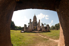 Ancient temple ruins in Thailand. Royalty Free Stock Images