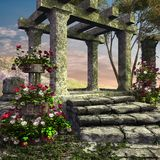 Ancient temple ruins Royalty Free Stock Image