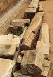Ancient temple ruins Stock Photos