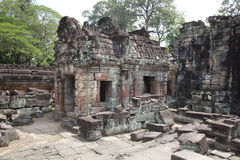 Ancient  temple siem reap cambodia Stock Photography