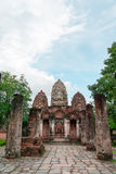 Ancient Temple in Sukhothai, Thailand Stock Photo