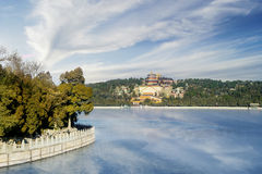 Ancient temple at Summer Palace Stock Photo
