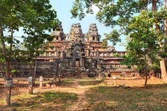 Ancient temple Ta Keo Royalty Free Stock Photo