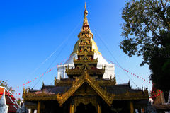 Ancient temple. S in Lampang,thailand Royalty Free Stock Photos
