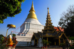 Ancient temple. S in Lampang,thailand Stock Photos