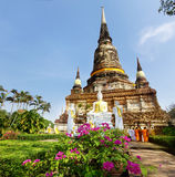 Ancient temple in Thailand Royalty Free Stock Photos