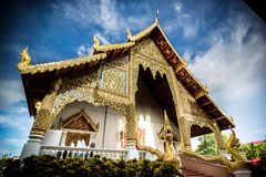 Ancient temple in Thailand Stock Photo