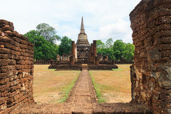 Ancient temple in Thailand Stock Photography