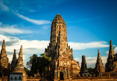 Ancient temple of thailand Royalty Free Stock Photo