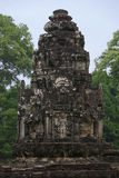 Ancient temple tower in jungle Royalty Free Stock Images