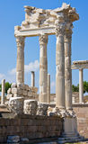 Ancient Temple of Trajan Royalty Free Stock Photo
