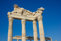 Ancient temple of Trajan 1 Royalty Free Stock Image