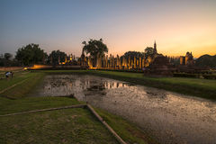 Ancient temple in the twilight time Royalty Free Stock Photo