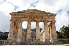 Ancient temple of Venus Royalty Free Stock Images