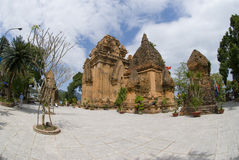 Ancient Temple in Vietnam Stock Photos