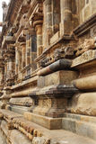 Ancient temple wall Stock Images