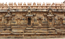 Ancient temple wall Royalty Free Stock Photos