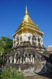 Ancient temple, Wat Chiang Man temple in Chiang Mai Royalty Free Stock Images