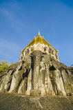 Ancient temple, Wat Chiang Man temple in Chiang Mai, Thailand. Stock Images