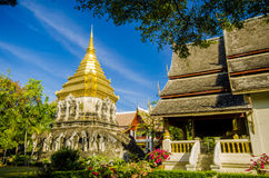 Ancient temple, Wat Chiang Man temple in Chiang Mai, Thailand. Royalty Free Stock Images