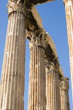 Ancient Temple of Zeus Royalty Free Stock Photos