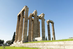 Ancient Temple of Zeus Royalty Free Stock Image