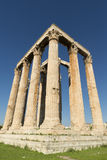 Ancient Temple of Zeus Royalty Free Stock Images