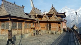Ancient temples. In kinnaur Stock Photography