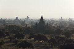 Ancient temples of Bagan, Myanmar Royalty Free Stock Image