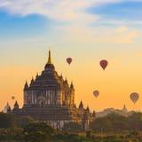 Ancient Temples in Bagan Stock Photos