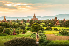 Ancient Temples in Bagan, Myanmar Royalty Free Stock Photo