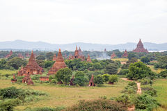 Ancient Temples in Bagan, Myanmar Royalty Free Stock Image