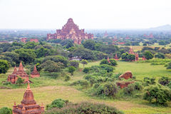 Ancient Temples in Bagan, Myanmar Royalty Free Stock Photos