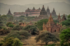 Ancient Temples in Bagan Stock Photography