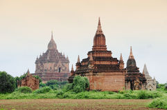 Ancient Temples in Bagan Stock Photo