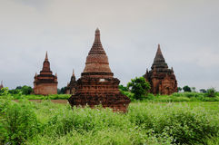 Ancient Temples in Bagan Stock Images