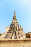 Ancient temples in Thailand Royalty Free Stock Image