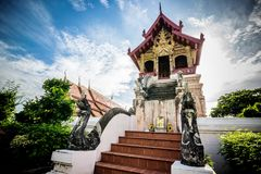 Ancient Temples Thailand Lanna Royalty Free Stock Images