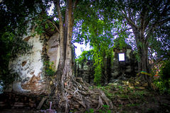 Ancient temples in Thailand 11 stock photo