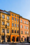 Ancient tenements in the Old Town Stock Photo