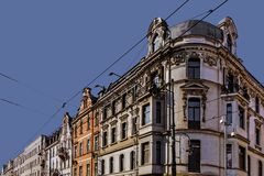 Ancient tenements on 3rd May Street Royalty Free Stock Photos