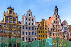 Ancient tenements Royalty Free Stock Photography