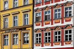 Ancient tenements Royalty Free Stock Photos