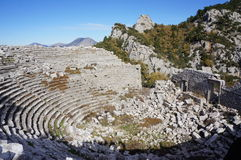 Ancient Termessos in Antalya Royalty Free Stock Photography