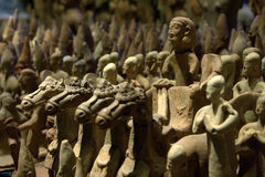 Ancient terracotta figures  Royalty Free Stock Photo
