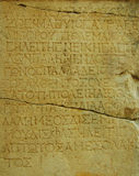 Ancient text Stock Images