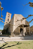 Ancient 14th century Church Santa Maria del Castillo in Buitrago de Lozoya, Madrid, Spain. Royalty Free Stock Photos